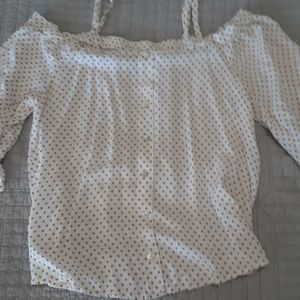 Bobeau size Small off the shoulder Blouse